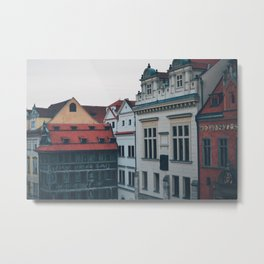 Discovering Prague Metal Print