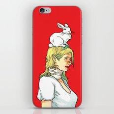 Fragile Girl iPhone & iPod Skin