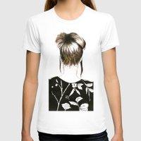 emma stone T-shirts featuring Emma  by Yaz Raja Designs