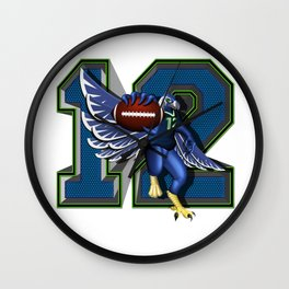 Seattle's 12th Man Wall Clock