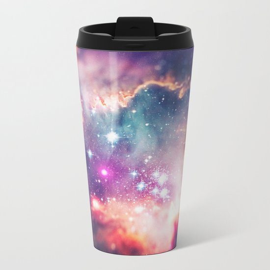 The Universe under the Microscope (Magellanic Cloud) Metal Travel Mug