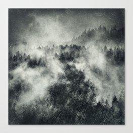 Recently // Dark Boogie Edit Canvas Print