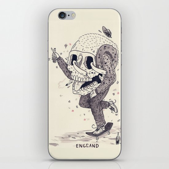 Roll Forever iPhone & iPod Skin