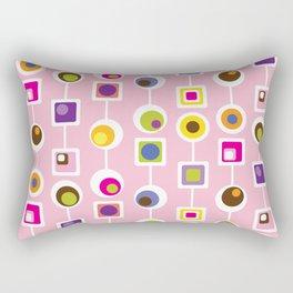 Mod Love Pink Rectangular Pillow