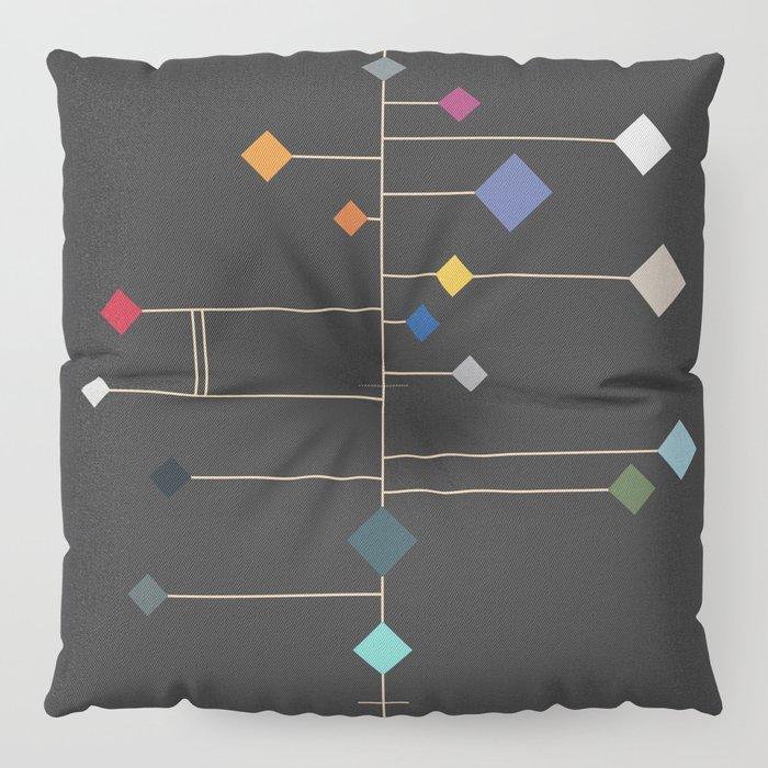 winter equinox Floor Pillow