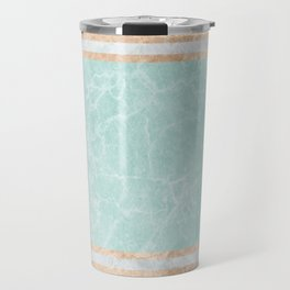 Pastel Marble Abstract Composition #2 Travel Mug