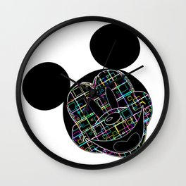 illusion Micky Mouse Wall Clock