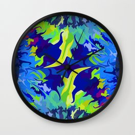 My first Tie-Dye design :) Wall Clock