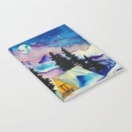 Winter cabin Notebook