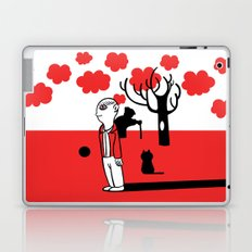 SILENCE IN THE PARK Laptop & iPad Skin