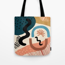 Shapes Party Tote Bag