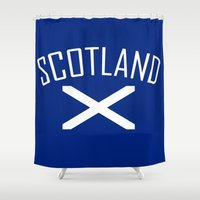 scotland Shower Curtains featuring Scotland by Earl of Grey