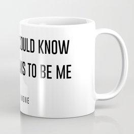 I wish you could know Coffee Mug