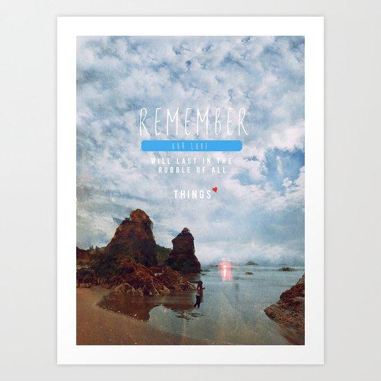 AMOR. Art Print
