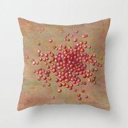 CRANBERRIES Throw Pillow