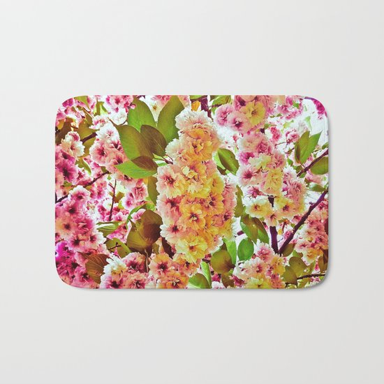Polychrome Beauty In Full Bloom Bath Mat
