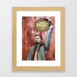 """""""Conor McGregor, (I)"""" Framed Art Print"""