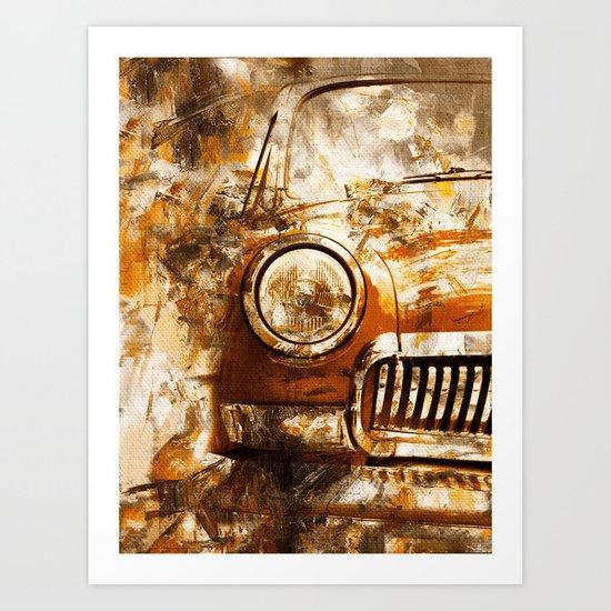 Car Wash 2 Art Print