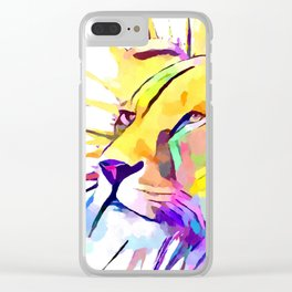 Lioness 3 Clear iPhone Case