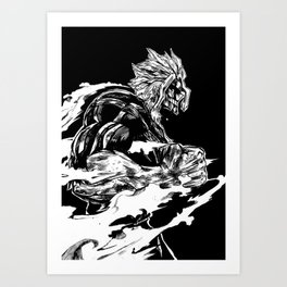 All might Art Print