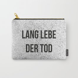 LANG LEBE DER TOD Carry-All Pouch