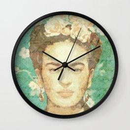 Rosas para Frida Wall Clock