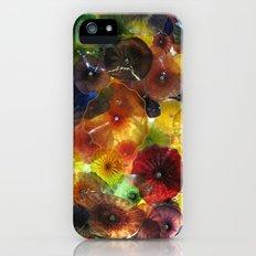 Bellagio glass flowers iPhone (5, 5s) Slim Case