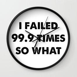 Failed 99.9 Times Wall Clock