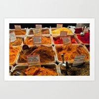 spice Art Prints featuring Spice by Samara