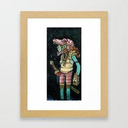 Nice Skull Framed Art Print
