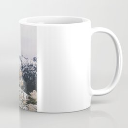 Mountains + Flowers Coffee Mug