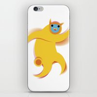 robert farkas iPhone & iPod Skins featuring Robert by res_fly
