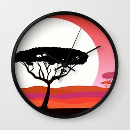 New Safari and Africa Collection Wall Clock