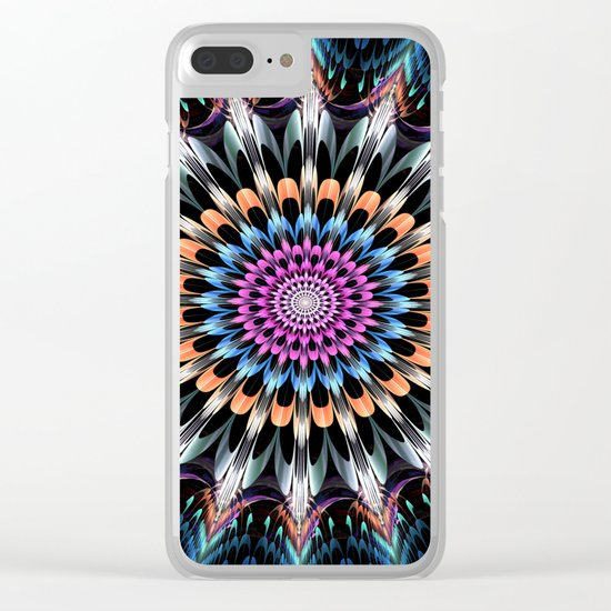 The flower of happiness Clear iPhone Case