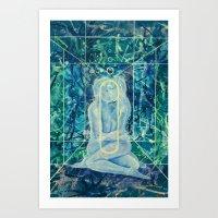 Microcosmicorbit Art Print