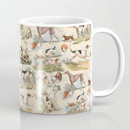 Hounds - Champagne ecru Coffee Mug