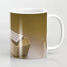 Chocolate Ship - 3D Art Coffee Mug