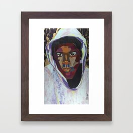 The Tribute Series-Trayvon Martin Framed Art Print