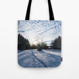 Winter Landscape - Ontario Tote Bag