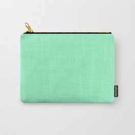 Mint Meringue Carry-All Pouch