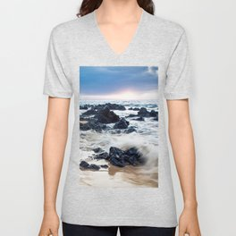 Keawakapu Kahaulani Dew Of Heaven Maui Hawaii Unisex V-Neck