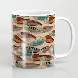 Alaskan salmon peach Coffee Mug