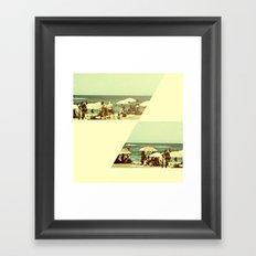 More summertime Framed Art Print
