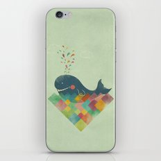 live in the present iPhone & iPod Skin