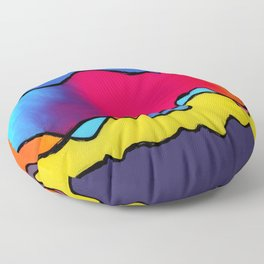 CALIFORNIA WAVE Floor Pillow