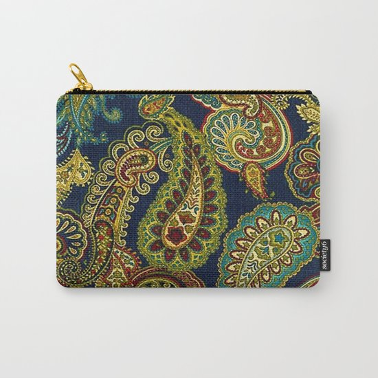 Floral Paisley Pattern 05 Carry-All Pouch
