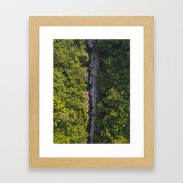 Cañon del Mandiyaco Framed Art Print
