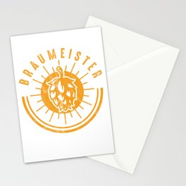 Brewery Brewing Ciders Fermentation Gift Brew Master Beer Brewer Stationery Cards
