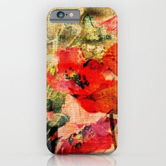 Poppies 2 iPhone & iPod Case