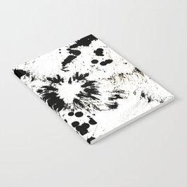 MONOCHROME SPLATTER Notebook